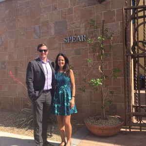 Dr. Emery & another dentist at the Spear Seminar in Arizona this week.